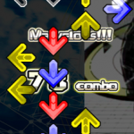 【StepMania 5】 コンボや判定文字を矢印の下(裏側)に置く設定