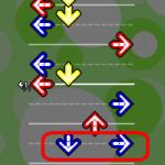 [DDR tips] 同時押し時の、足の動きを軽減しよう