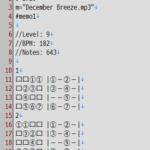 [jubeat analyser] jubeat_memo, cosmos_memoから譜面データを使う際のメモ